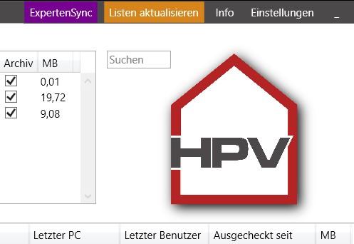 """HPV v2.1.1 """"Suchen und kopieren"""""""